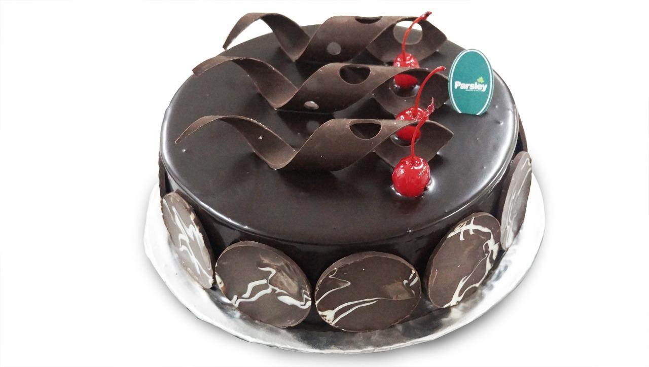 New Ganache Chocolate Cake